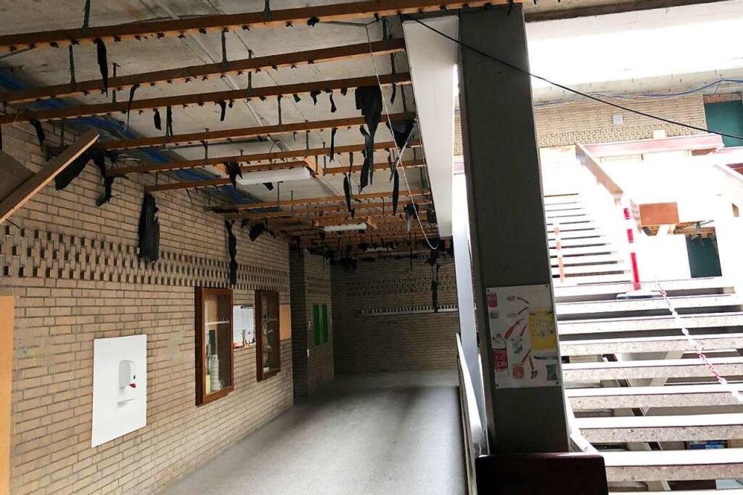 Im Gymnasium wurde der Brandschutz auf Vordermann gebracht.  | Foto: Werner Wohner/Stadt Rheinfelden