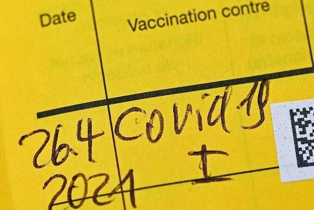 Auf Ungeimpfte kommen mit der neuen Corona-Verordnung wohl noch mehr Pflichten zu