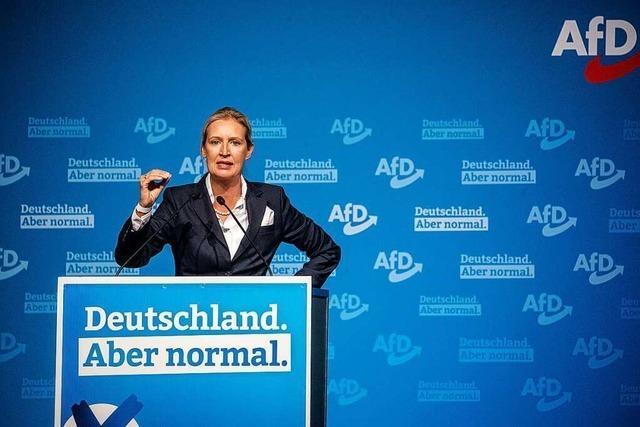 AfD-Parteitag geprägt von Zwist zwischen Vorstand und Basis