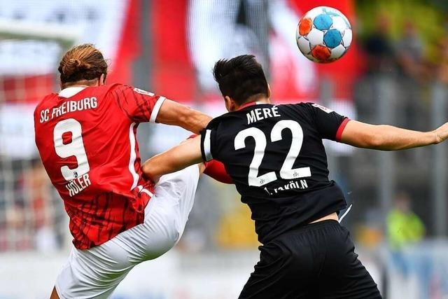 Gegen Köln erzwingt der SC Freiburg kurz vor Abpfiff den Ausgleichstreffer