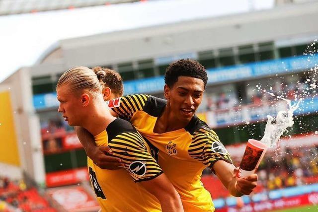Dortmund gewinnt spektakulär mit 4:3 in Leverkusen