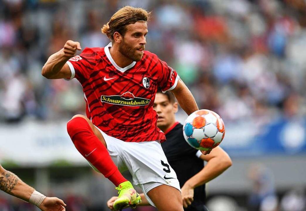 Lucas Höler bleibt im Heimspiel gegen den FC ohne Durchschlagskraft.    Foto: Achim Keller