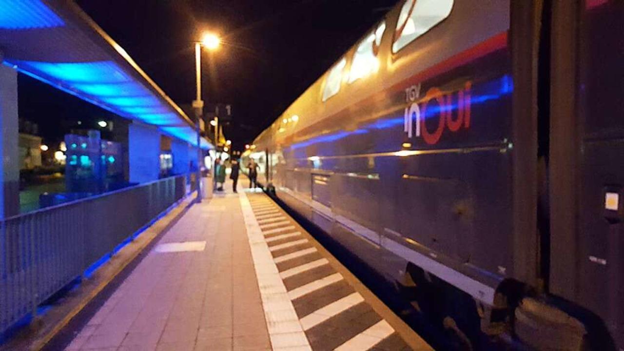 Der französische TGV macht auch in Süd...ild aus Emmendingen aus dem Jahr 2018.    Foto: Felix Lieschke