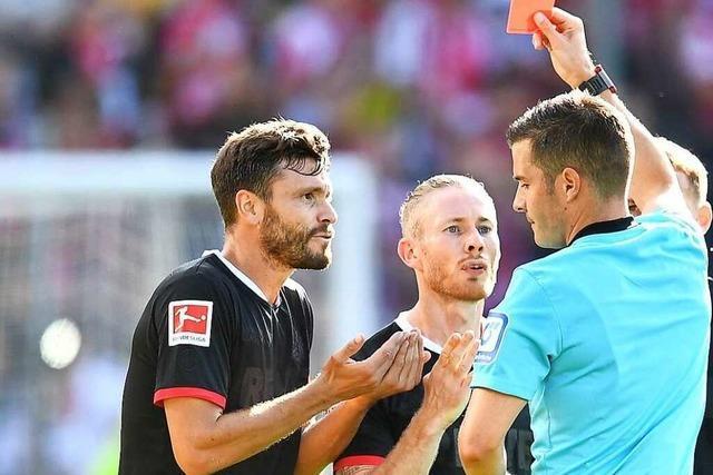 Kurz vor Schluss sichert sich der SC Freiburg einen Punkt