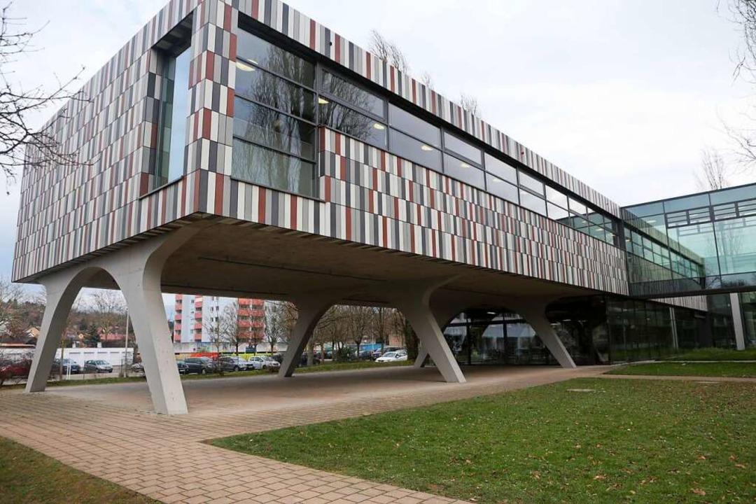 Der Anbau des Scheffel-Gymnasiums in Lahr    Foto: Christoph Breithaupt