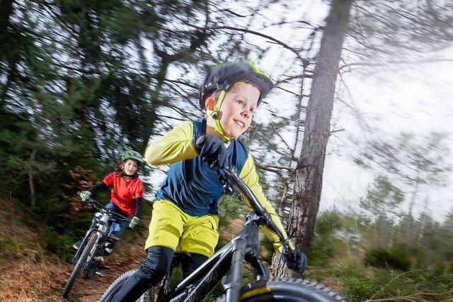 Wie Kinder am besten das Mountainbiken lernen