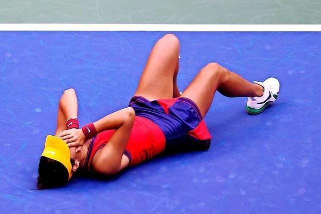 18-jährige Qualifikantin Raducanu gewinnt die US Open