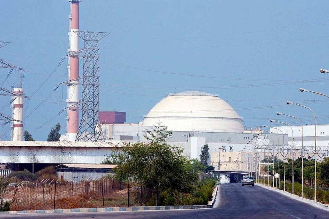 Das iranische Atomkraftwerk Buschehr (Archivbild)    Foto: ABEDIN TAHERKENAREH