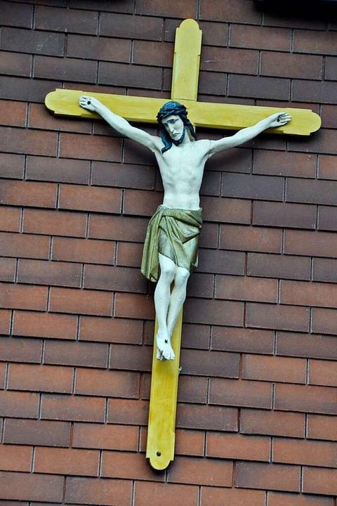 Kreuz am Haus von  Manfred Spitz in Menzenschwand  | Foto: Christiane Sahli