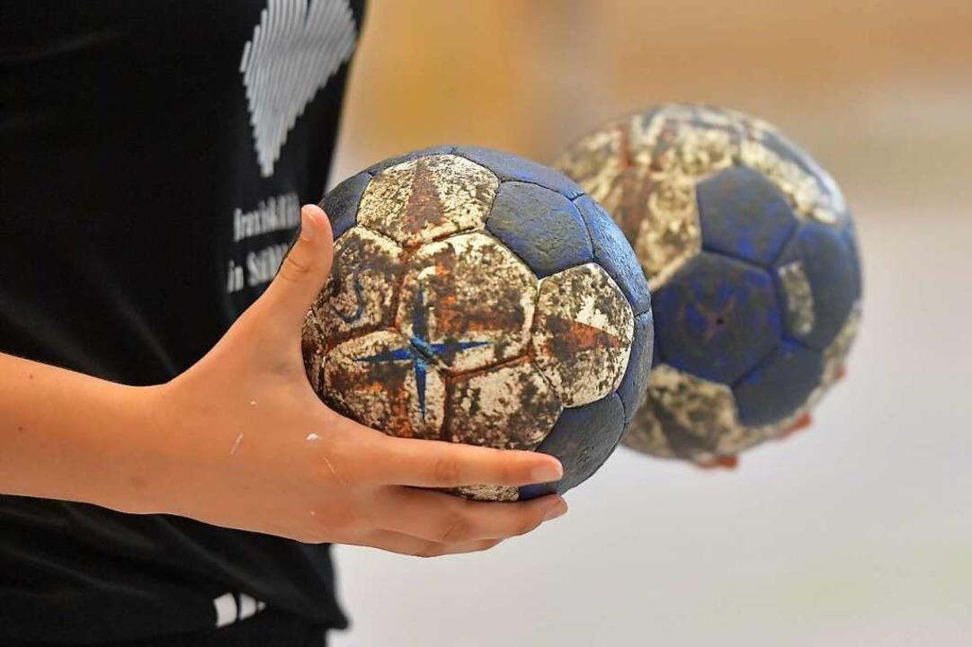 Zum Handball können die Drittliga-Spie...Beide Spielerinnen sind in Quarantäne.  | Foto: Achim Keller