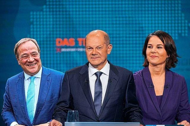Liveblog: So läuft die zweite Kanzlerkandidaten-Runde im TV