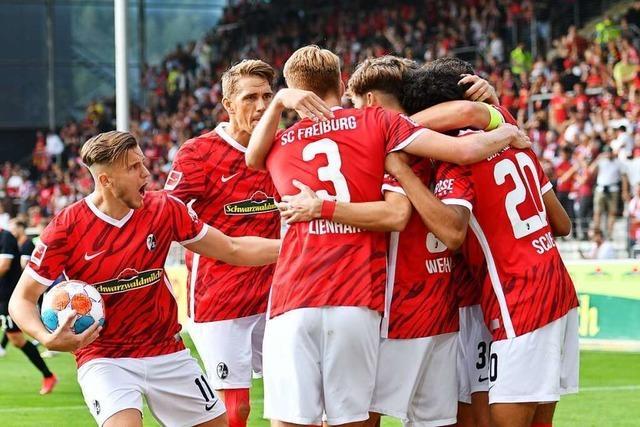 Der Punkt gegen Köln ist das erfolgreiche SC-Debüt von Noah Weißhaupt