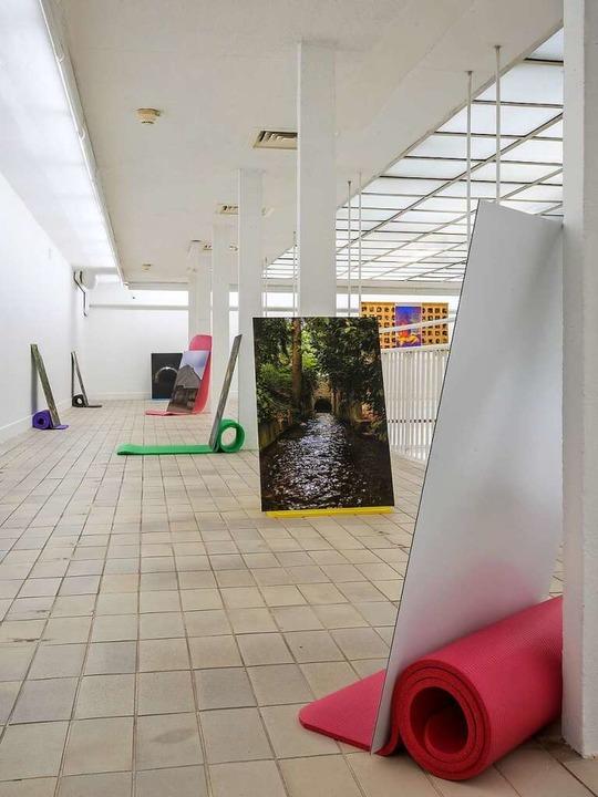 Blick in die Ausstellung im Kunstverein Freiburg  | Foto: Marc Doradzillo