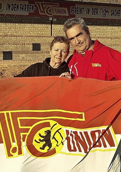 1.-FC-Union-Berlin-Depandance am Kap: Carmen und Dario Urbanski    Foto: Dario Urbanski