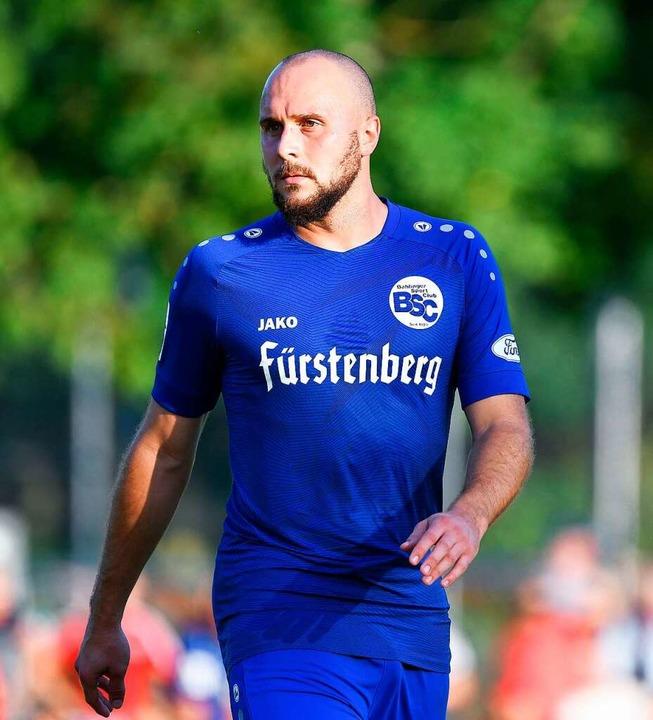 BSC-Torschütze Santiago Fischer    Foto: Claus G. Stoll