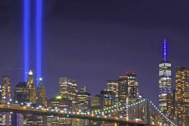 USA gedenken der Opfer der Terroranschläge