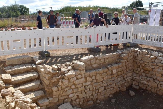 Ausgrabungsstätte lockt Römer-Fans nach Grenzach-Wyhlen