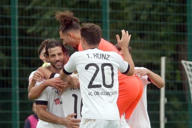 Chancen zuhauf: FC 08 Villingen gewinnt in Walldorf locker 3:0