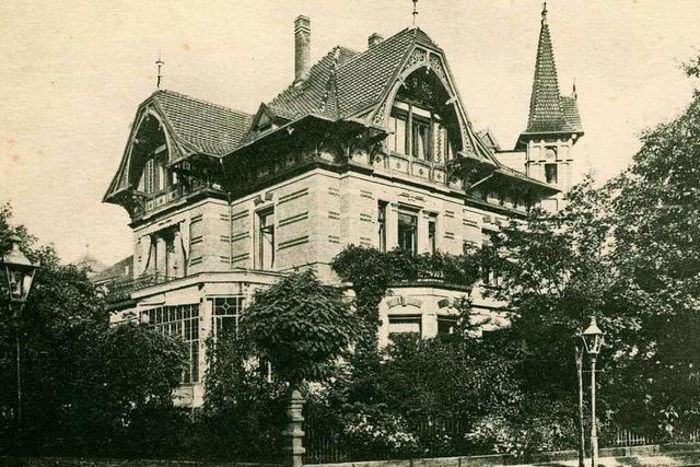 Das Hotel Minerva wurde 1911 aus dem Stadtteil Wiehre in Freiburgs Innenstadt verlegt