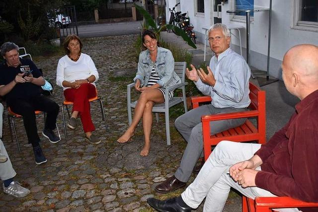Grünen-Politiker Zickenheiner diskutiert über Hitze in den Städten