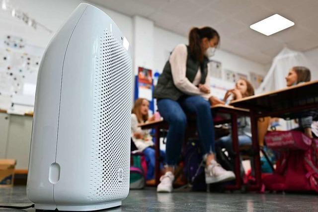 Mobile Luftfilter sind in den Schulen im Kreis Lörrach zum Teil noch rar