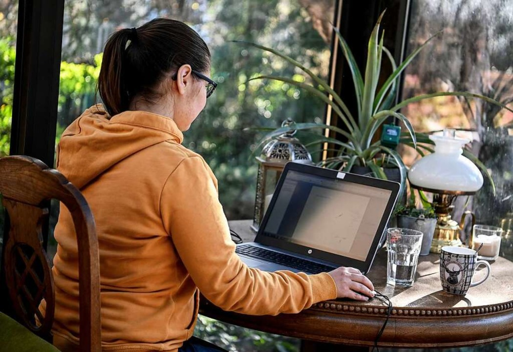 Arbeit im Homeoffice wird immer beliebter.    Foto: Britta Pedersen (dpa)