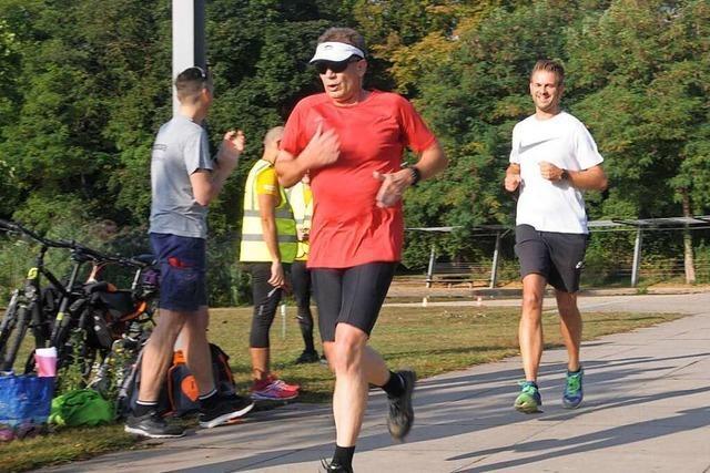 Weils Jogger haben mit wöchentlichem 5-Kilometer-Lauf begonnen