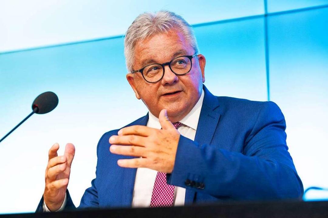 CDU-Politiker und neuerdings Präsident des Blasmusikverbands Baden-Württemberg.    Foto: M. Gruber/7aktuell (imago)