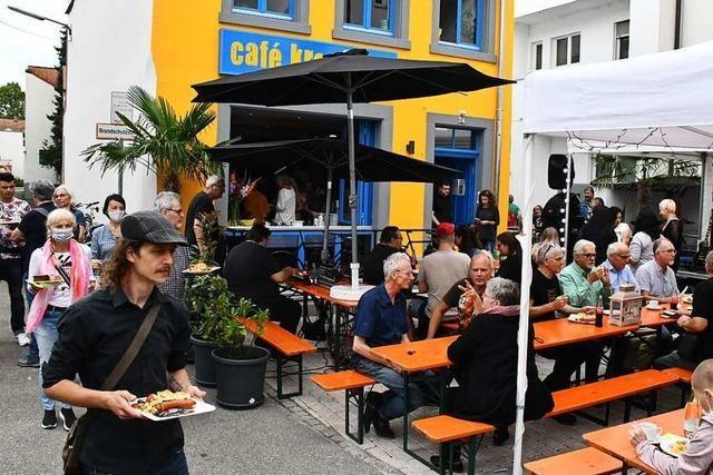 Deutschlands erstes Gratiscafé im Lörracher Stadtzentrum ist eröffnet