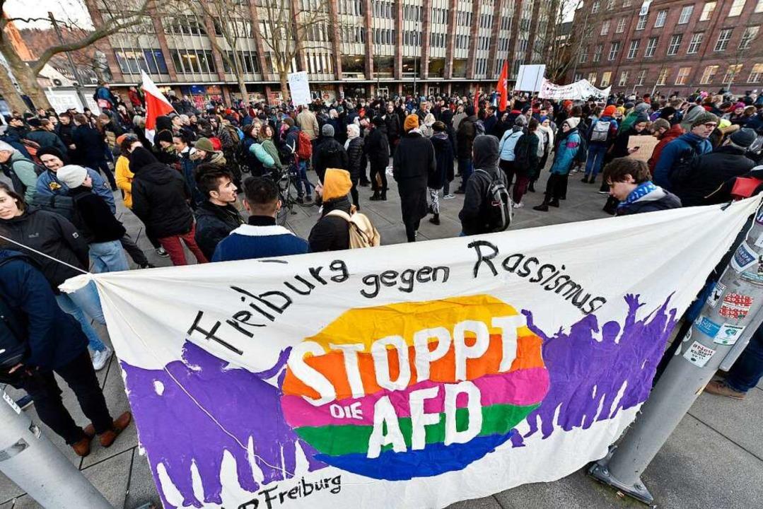 Der Wahlerfolg der AfD 2017 hat Moritz Kenk bewogen, den Linken beizutreten.  | Foto: Thomas Kunz
