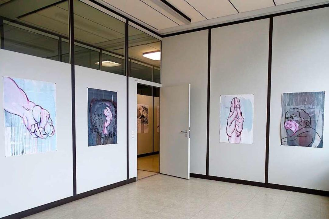 Sammlung H im ehemaligen Fernmeldeamt Waldkirch: viel Platz für Kunst  | Foto: Harald Herrmann