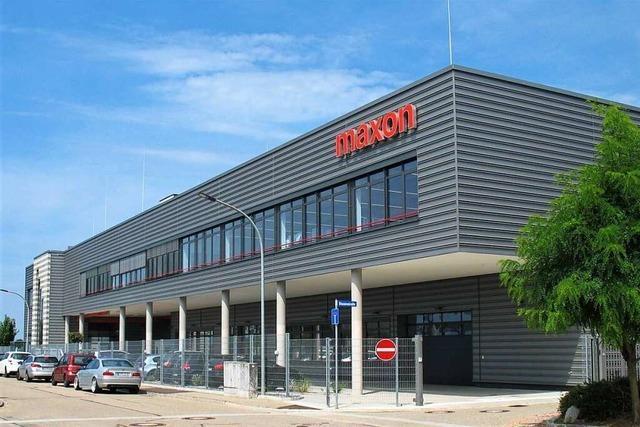 Maxon Motor investiert acht Millionen Euro für Werk 4 in Sexau