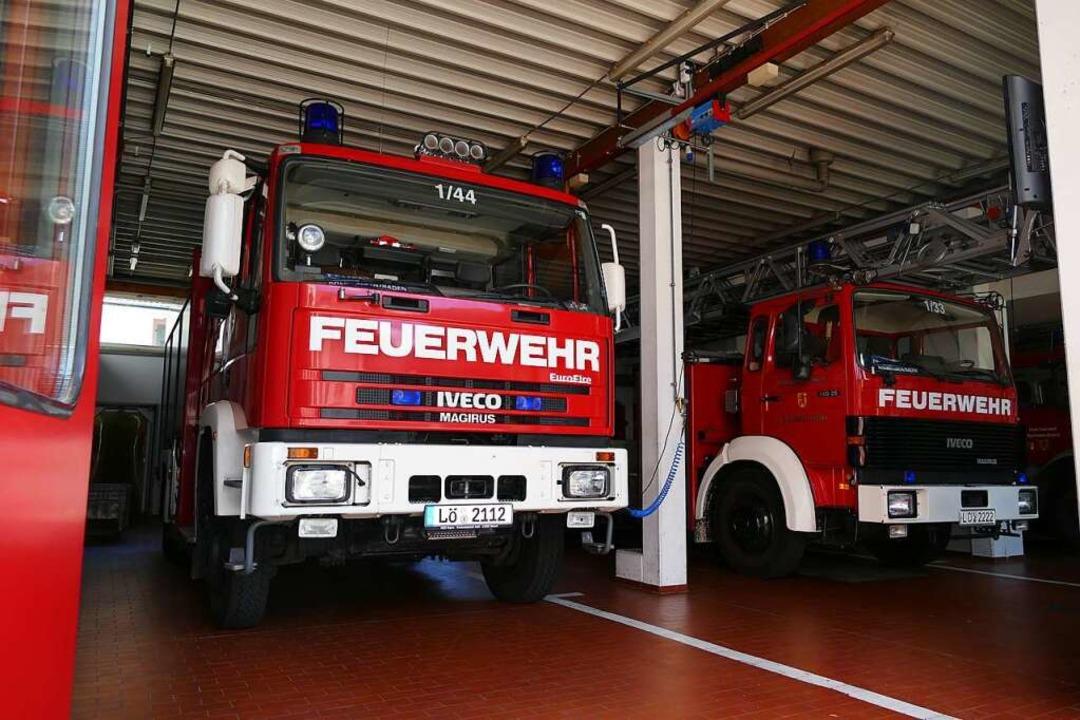Die Rheinfelder Feuerwehr bekommt ein ...; die Bauarbeiten verzögern sich aber.    Foto: Ingrid Böhm-Jacob