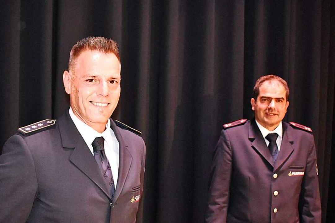 David Sommer (links) und Marc Thoma wurden  in das Kommando gewählt.    Foto: Hrvoje Miloslavic