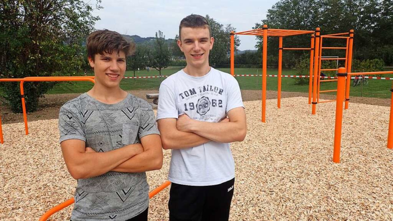 Julian Treiber (links) und Henrik Mattmüller  | Foto: Christine Weirich