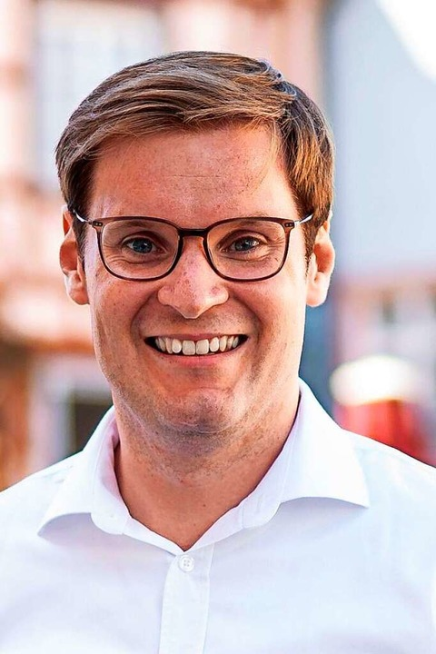 Yannick Bury (CDU) setzt ganz auf das Direktmandat.  | Foto: Kienzler