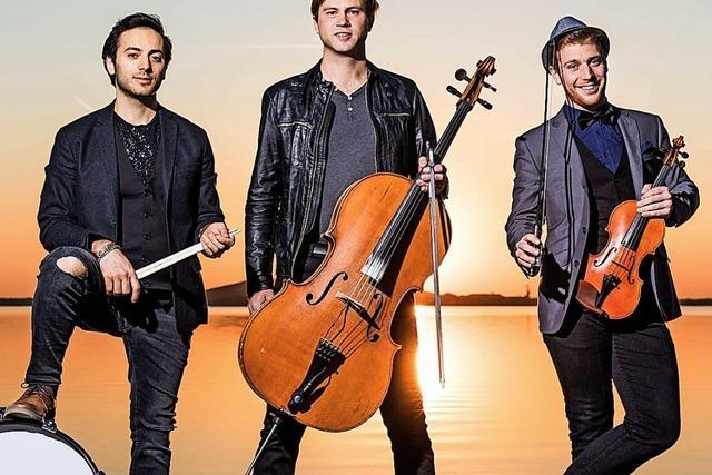 Das Leipziger Trio Stilbruch gastiert in der Reithalle Offenburg