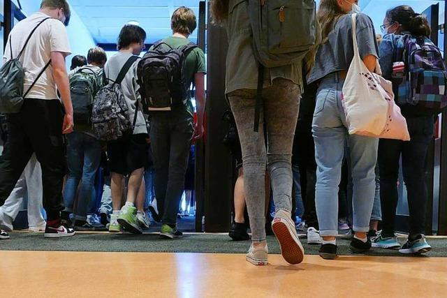 Wie lief der erste Tag am Schulzentrum Grenzach-Wyhlen?