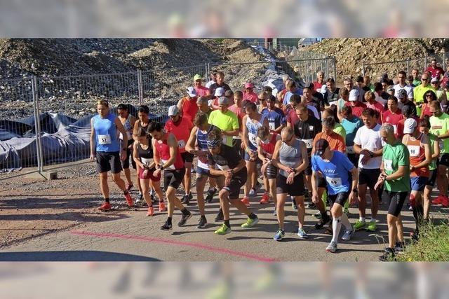 127 Läufer gehen an den Start