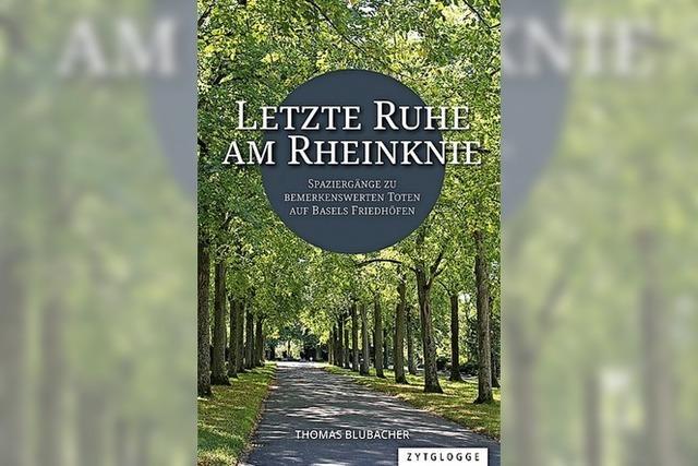 REGIO-BUCH: Ruhestätten am Rheinknie
