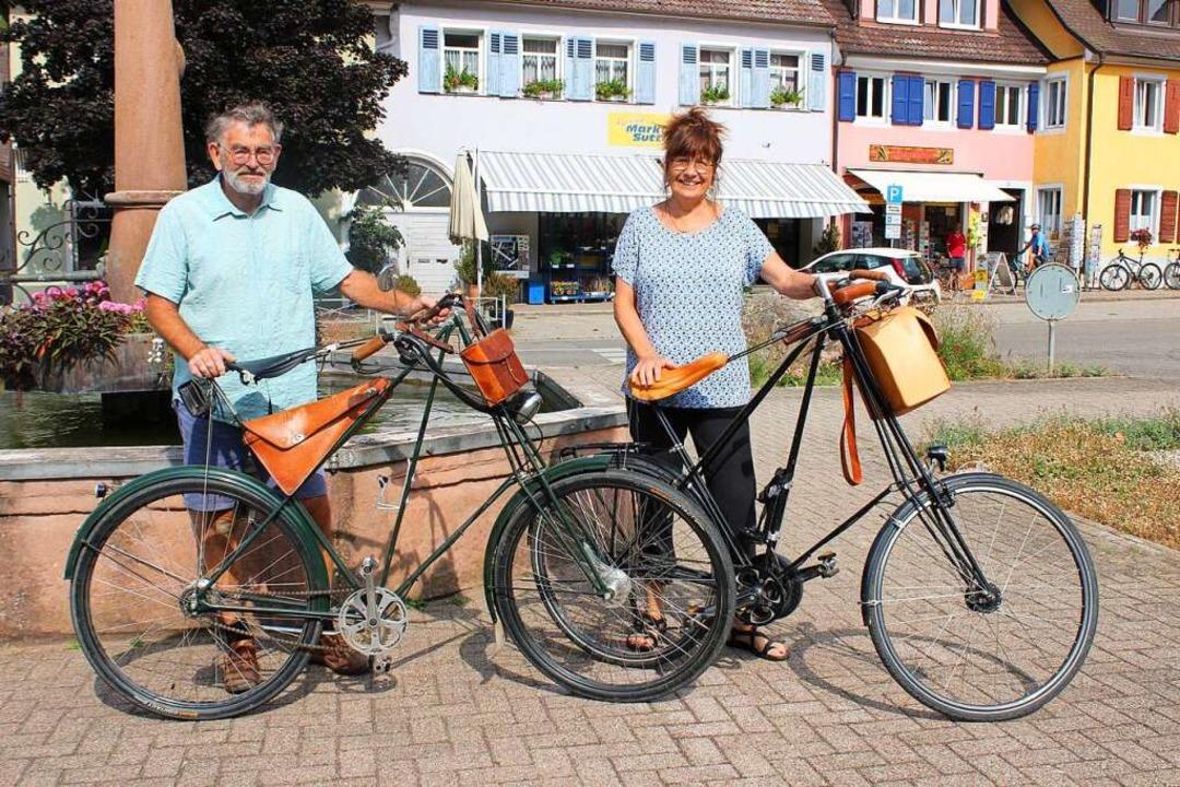 Ungewöhnliche Geometrie, hoher Fahrkom...r und Nina Vielmo mit Pedersen-Rädern.    Foto: Jennifer Ruh
