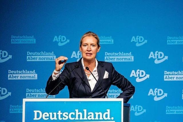 Alice Weidel will in der AfD eine Schlüsselrolle einnehmen