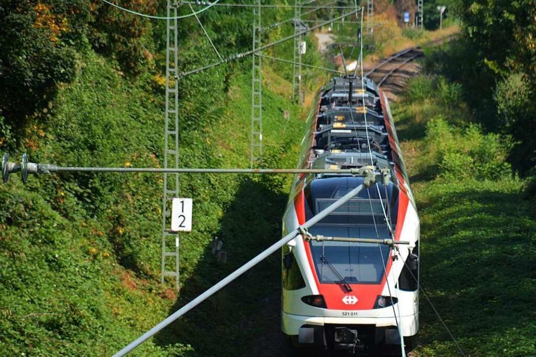 Nur ein Gleis für die S-Bahn – d... lieber auf einen Bus-Zubringerdienst.    Foto: Hannes Lauber