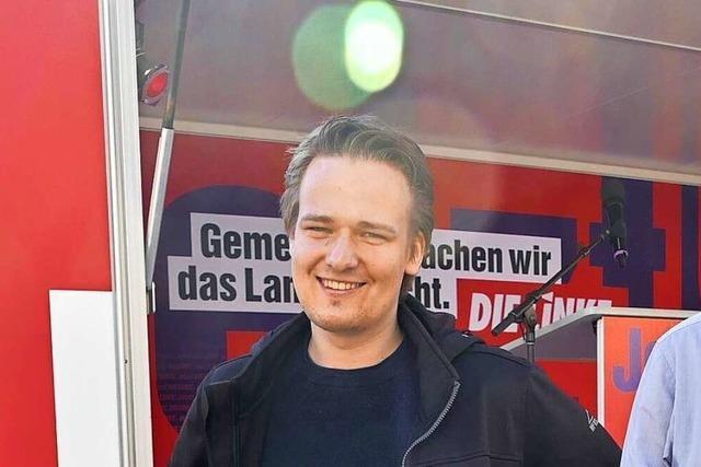 Moritz Kenk und die Linke wollen die vielen Wunden auf der Haut der Welt heilen