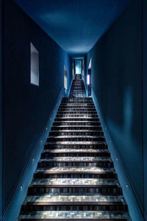 "Die ""Himmelstreppe"" führt zurAusstellung  | Foto: Alexander Paul Englert"