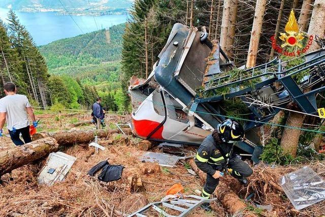 Opa soll überlebendes Kind des Seilbahn-Unglücks beim Lago Maggiore entführt haben