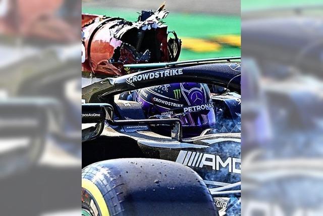 Der Schock sitzt tief bei Lewis Hamilton