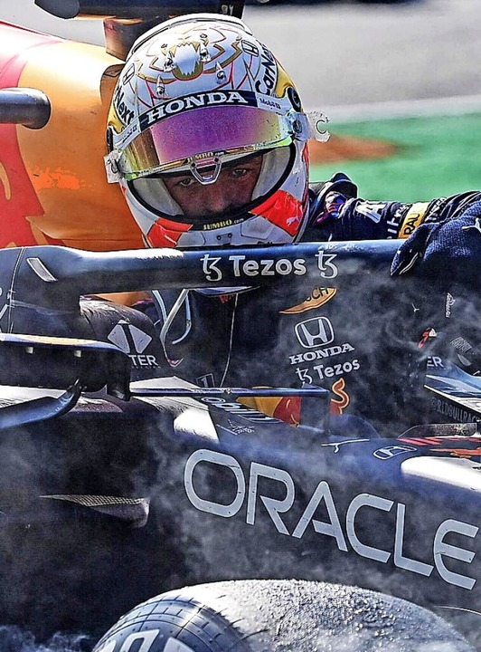 Max Verstappen stieg dagegen sehr schnell aus und ging davon.    Foto: ANDREJ ISAKOVIC (AFP)