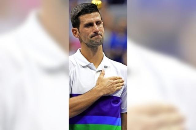 Die Tränen des Novak Djokovic