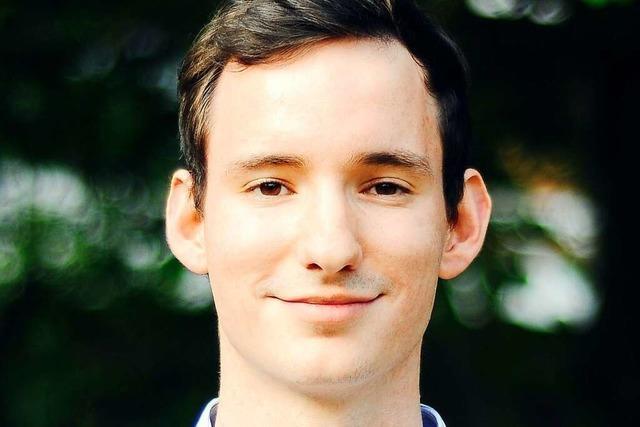 Jan-Lukas Schmitt (Grüne) will erneuerbare Energien schneller ausbauen
